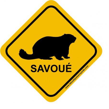 Roadsign Savoué Marmotte