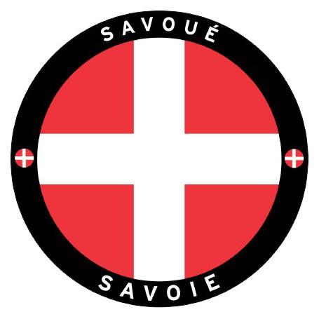 Autocollant Savoie Rond