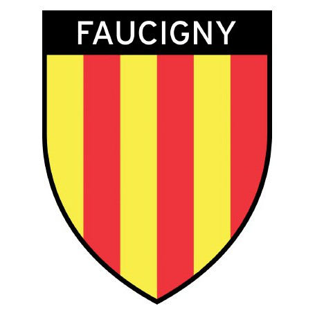 Autocollant ecusson Faucigny