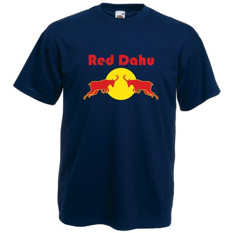 T-shirt Red Dahu - Bleu Marine
