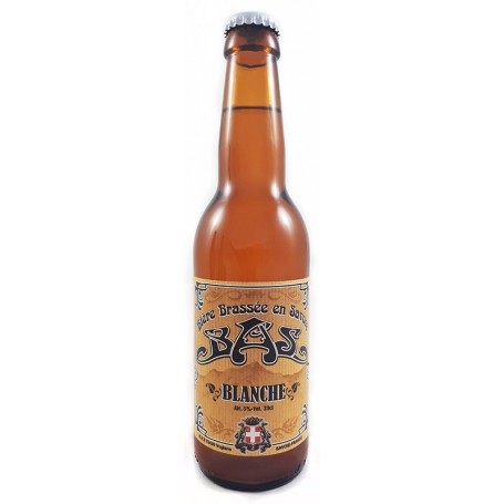 Bière savoie brasserie de sabaudia blanche