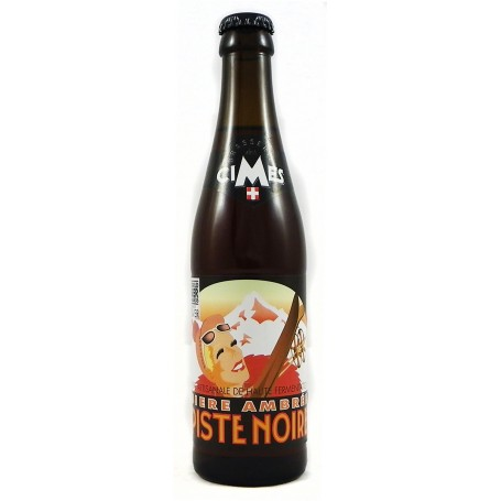 bière ambrée piste noire brasserie des cimes