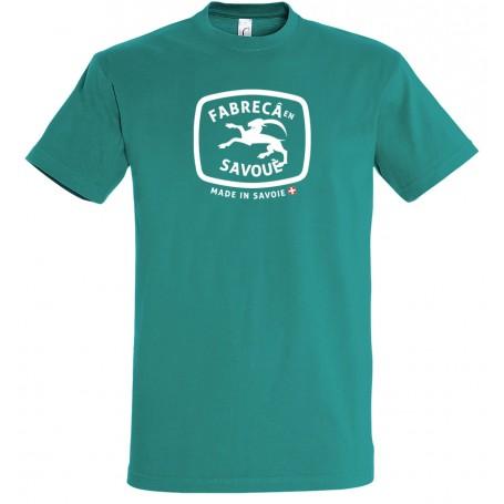 tee-shirt fabreca en savoue fabrique en savoie