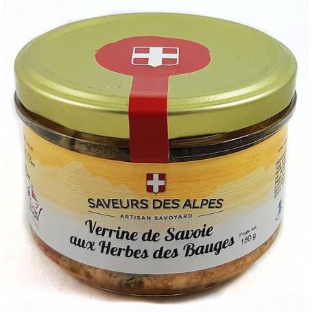Verrine de Savoie aux Herbes des Bauges