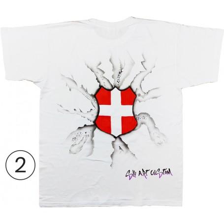 Croix de Savoie tee-shirt sly art customer