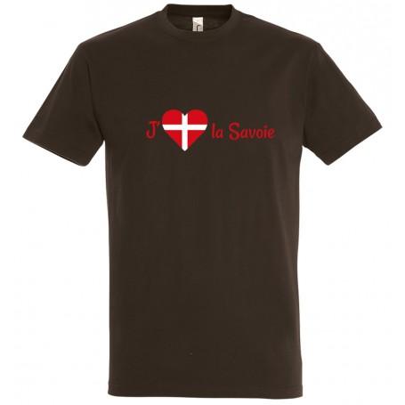 tee-shirt j'aime la Savoie