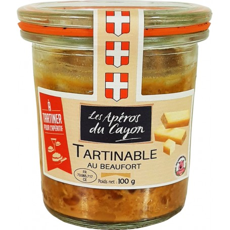 Tartinable au Beaufort